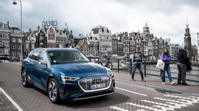 Caricabatteria supplementare per Audi e-tron e Audi e-tron Sportback