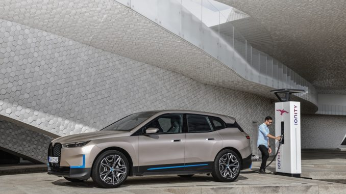 Primo sguardo sulla futura BMW iX