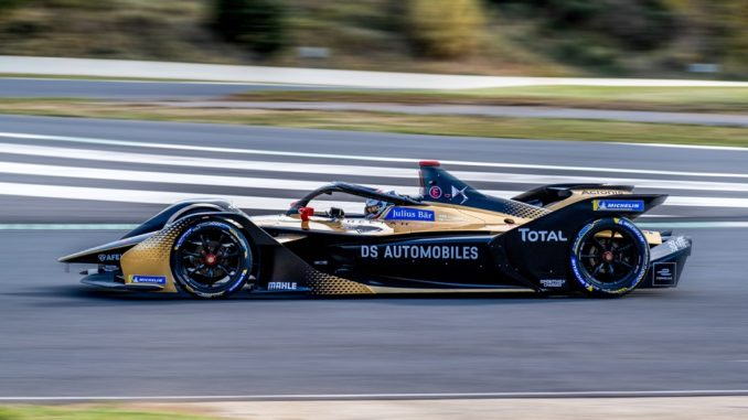 team DS Techeetah di Formula E
