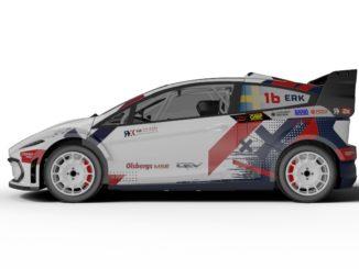carrozzeria finale del nuovo sfidante del campionato FIA RX2e
