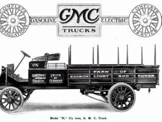 Storia. I primi truck elettrici di GMC