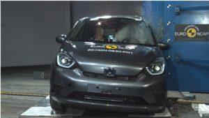 Cinque stelle EuroNCAP per la nuova Honda Jazz ibrida