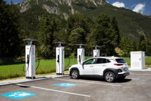 Hyundai si unisce al network di ricarica Ionity