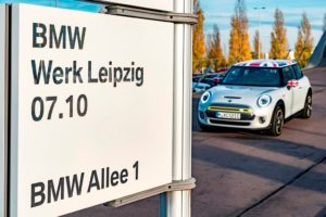 Futuro crossover MINI nello stabilimento di Lipsia del BMW Group