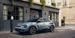 Cavo di ricarica da 22kW di serie sulla Nuova Citroën ë-C4 -100% ëlectric