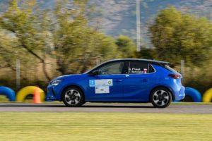 Coppa di regolarità FIA E-rally: vittoria di Opel Corsa-e