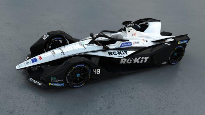 Formula E. La nuova livrea della stagione 7 di ROKiT Venturi Racing