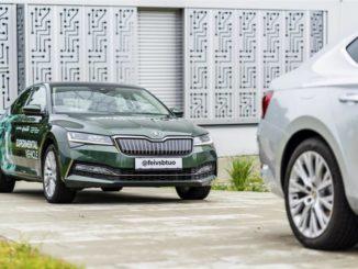 Progetto di guida autonoma da Škoda Auto e dell'Università di Ostrava