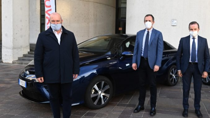 Toyota Mirai Presidente Emilia Romagna