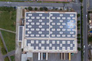 Nuovo impianto fotovoltaico nella sede di Toyota Motor Italia