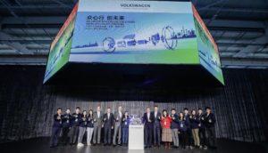 Volkswagen avvia la produzione di motori elettrici in Cina