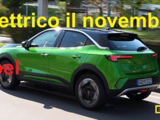Opel nel mese di novembre 2020