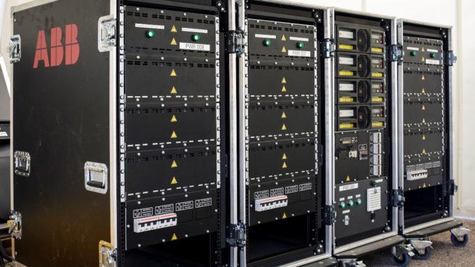 """Il campionato mondiale di Formula E non sarà mai """"off-air"""" con la tecnologia UPS di ABB"""