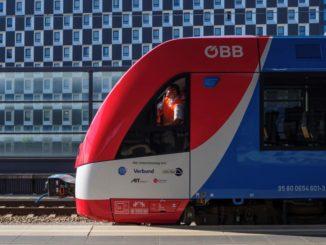 Superate le prove in Austria del treno Coradia iLint a idrogeno