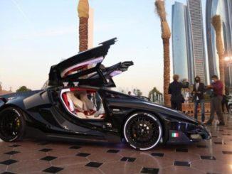 FV Frangivento Asfané presentata all'Emirates Palace di Abu Dhabi