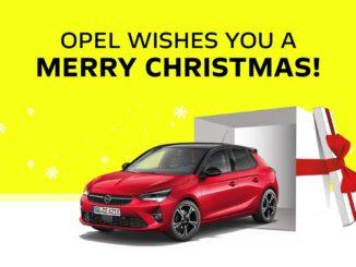 Gli auguri di Opel, pensando già al 2021