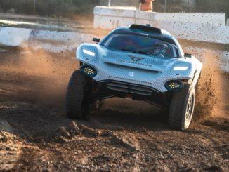 Test sul circuito spagnolo di MotorLand Aragón della ABT Cupra XE di Extreme E