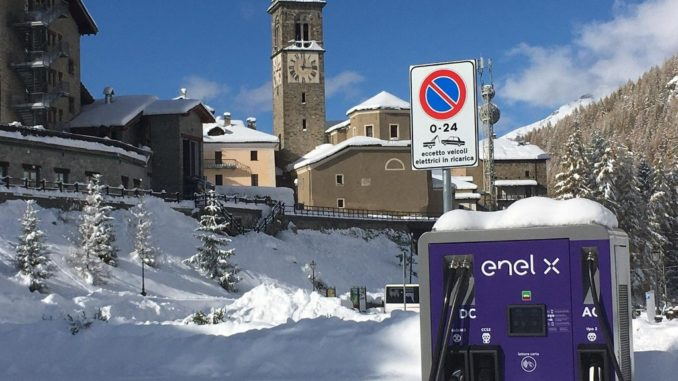 Turismo sostenibile sulle Alpi con Enel X per la mobilità elettrica
