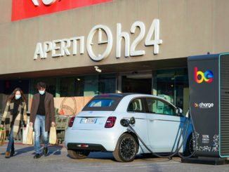 Promozione della mobilità elettrica da FCA e Carrefour