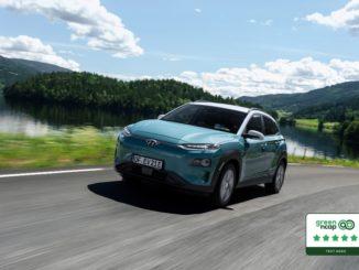 Cinque stelle Green NCAP per la Hyundai Kona Electric