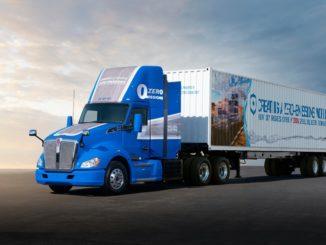 Nuova generazione del progetto camion a fuel cell Toyota