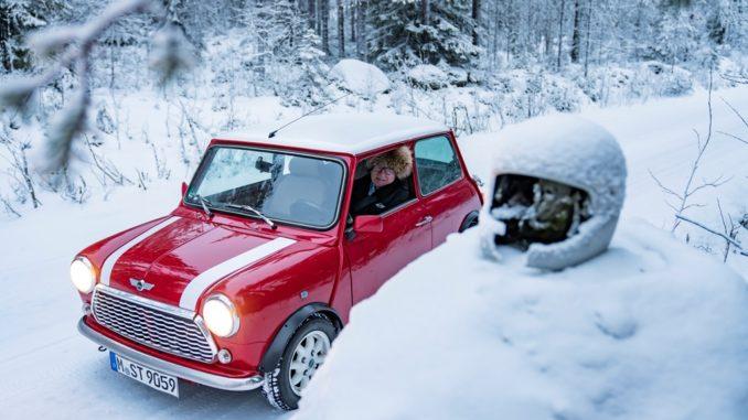 Fiaba di Natale in stile MINI per un campione del rally