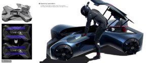 """Nuovo progetto di Nissan Design che ora crea """"GT-R (X) 2050"""""""