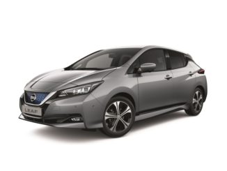 La nuova Nissan Leaf con più tecnologie di connettività e sicurezza
