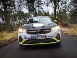 Il calendario dell' ADAC Opel e-Rally Cup