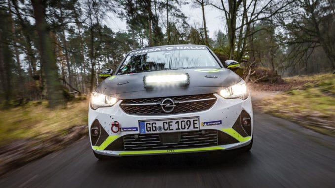 Il calendario dell' ADAC Opel e-Rally Cup