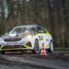 Opel Corsa-e Rally, Testfahrten in Sulingen, 9. Dezember 2020