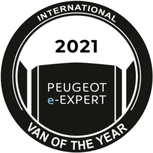 Nuovo Peugeot e-Expert è International Van of the Year 2021
