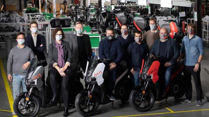 Al via la produzione dello scooter elettrico Seat MÓ