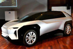 Subaru lancerà un modello elettrico per l'Europa