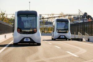 Toyota e-Palette per il servizio autonomo Autono-MaaS a Wovencity