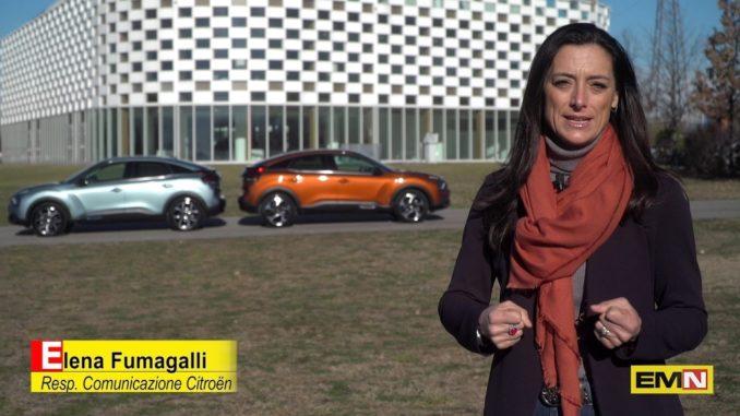 Nuova Citroën ëC4 100% ëlectrique