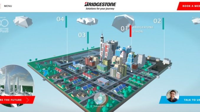 Al CES 2021, Bridgestone presenta Virtual City of the Future