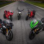 Energica RS Line Up, Ego Sport Black, Ego Corsa Black Test – credit Lorenzo Concari