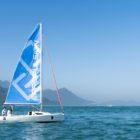 Navy 6.0 Evo powering sailboat 1
