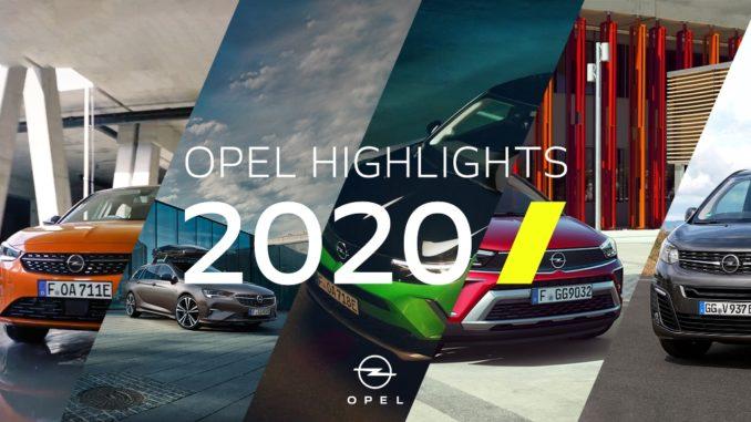 La sintesi del 2020 di Opel in un video