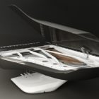 Piano Peugeot Design Lab pour Pleyel 008