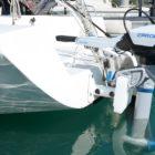 Spirit 1.0 Evo powering sailboat