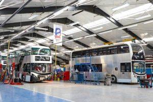 Progettazione e assemblaggio della partnership BYD ADL di telai di autobus elettrici nel Regno Unito