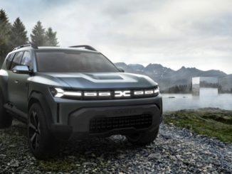Svelata la nuova Dacia Bigster Concept