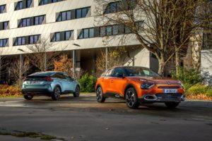 Nuova Citroën C4 e Nuova Citroën ë-C4 - 100% ëlectric