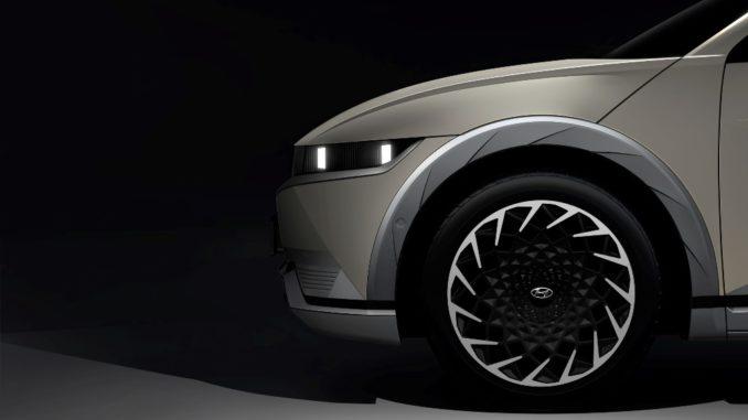 Prime immagini della Hyundai Ioniq 5