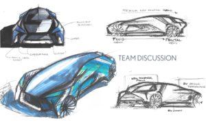 Il designer Ian Cartabiano parla di come progettare il futuro elettrificato di Lexus