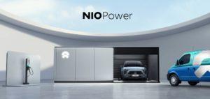 Nio lancia l'ammiraglia con batteria da150 kWh e nuovo sistema di sostituzione