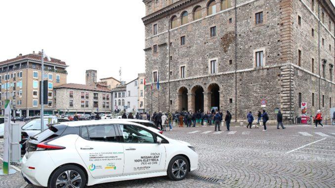 Partnership Nissan e Umbria Energy