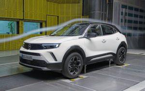 aerodinamica di Nuovo Opel Mokka